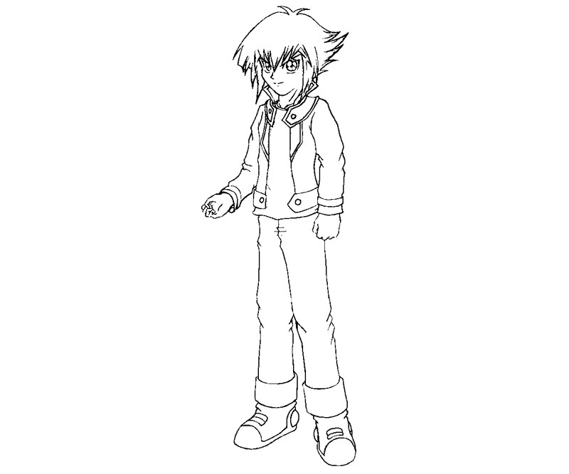 yugioh gx coloring pages - photo#4