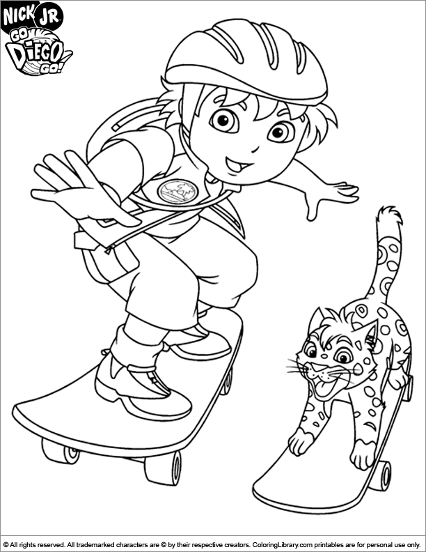 dieago coloring pages - photo#24