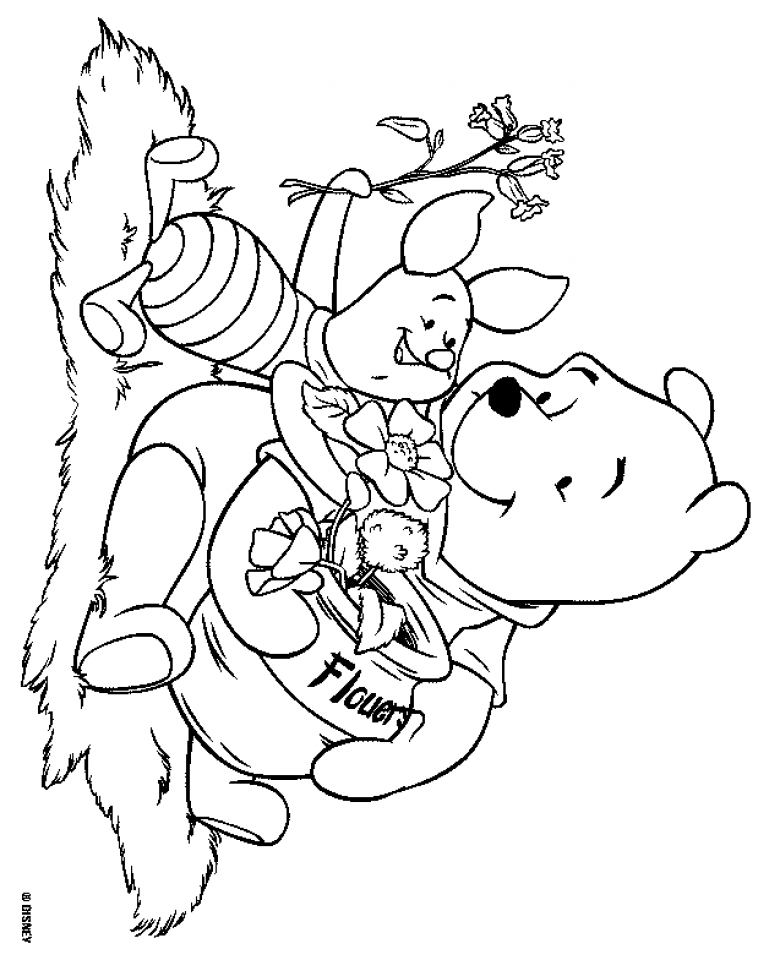 Drawing Of Winnie The Pooh Az Coloring Pages