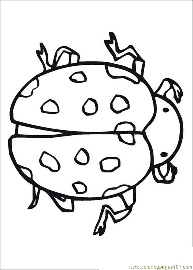 free printable Insect coloring page – Animals > Insects | coloring
