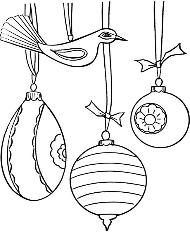 Christmas Tree Ornaments Coloring Pages Az Coloring Pages Tree Ornament Coloring Pages