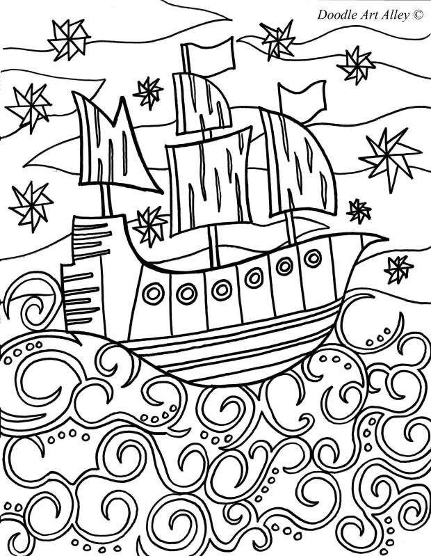 Doodle Art Alley Coloring Pages Az Coloring Pages Doodle Alley Coloring Pages