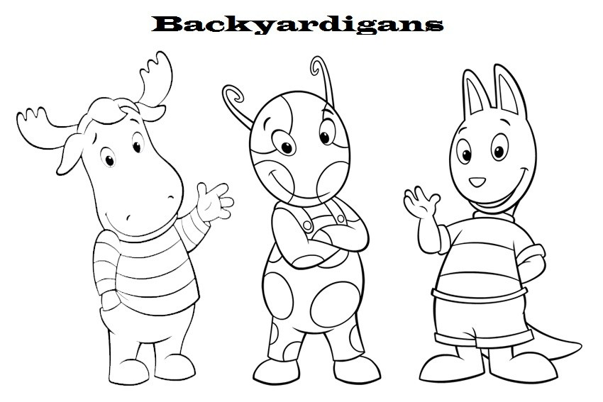 Backyardigans Coloring Pages - Coloring For KidsColoring For Kids