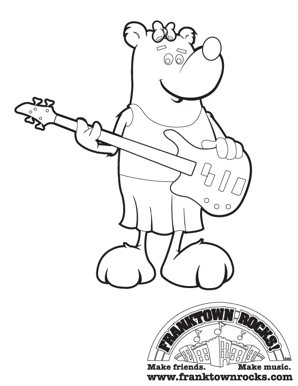 Franktown Rocks Coloring Pages