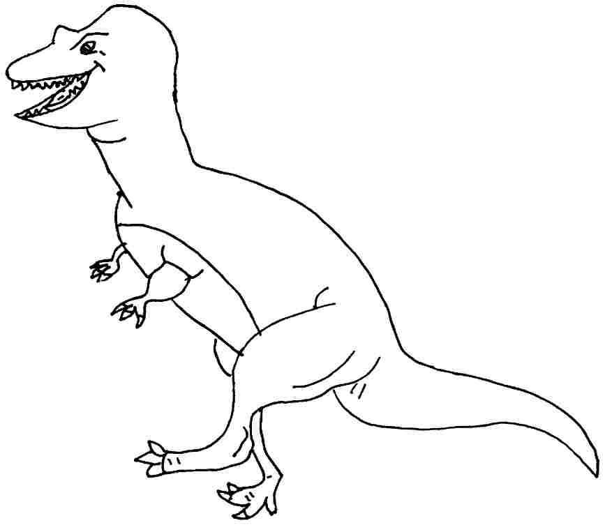 allosaurus coloring pages - photo#38