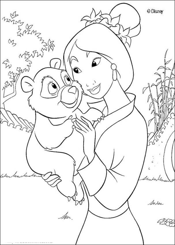 Mulan Disney Colouring Pages (page 2) - Coloring Home