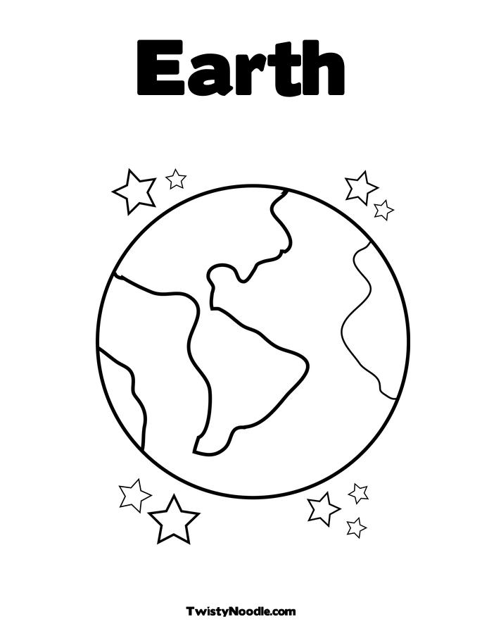 earth planet cutouts printables - photo #12