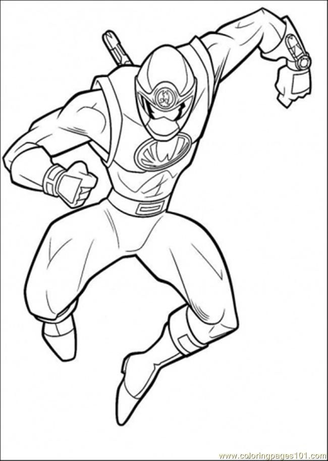 dino thunder coloring pages - photo#8