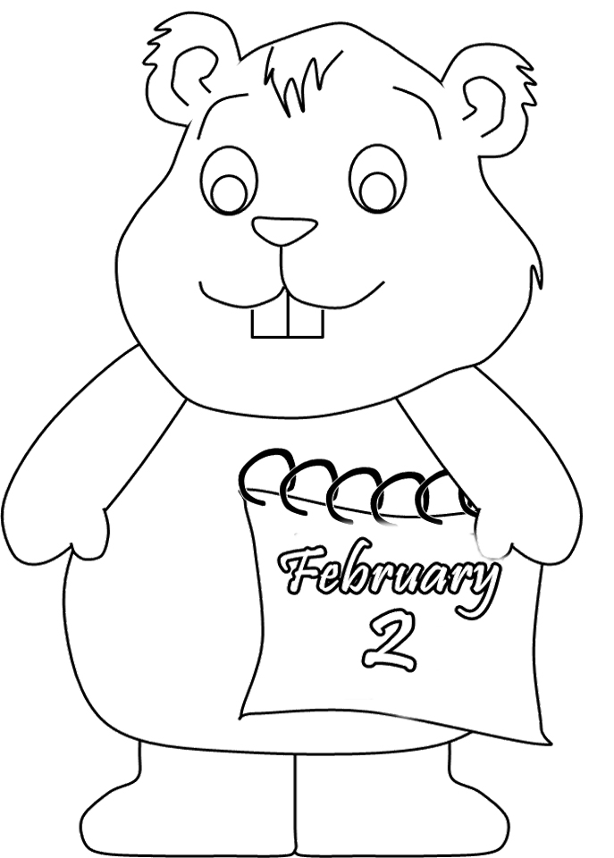 coloring pages february - photo#21
