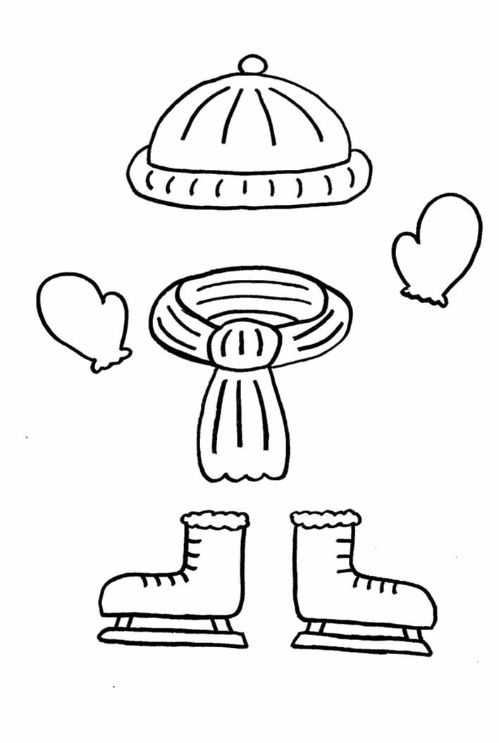 Clothes Coloring Page AZ Coloring