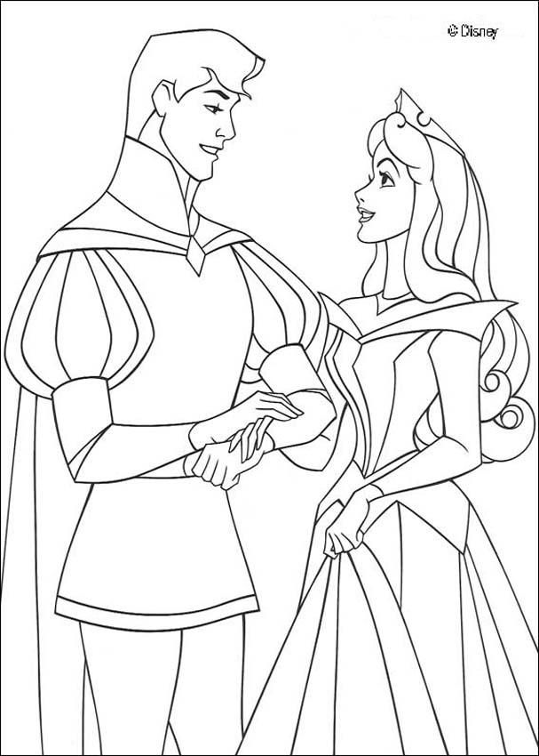 Sleeping Beauty Coloring Pages 021
