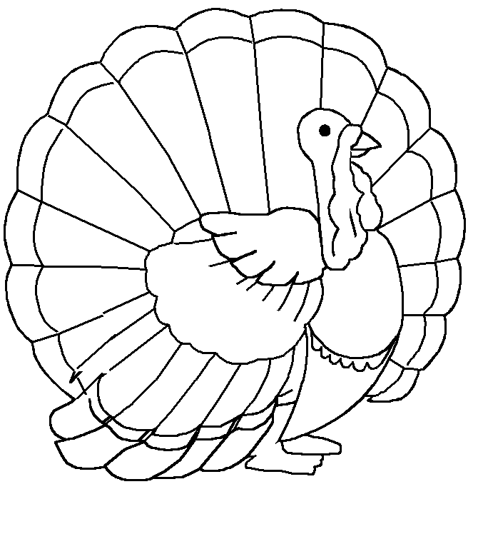 Turkeys Coloring Pages Free Printable Download | Coloring Pages Hub