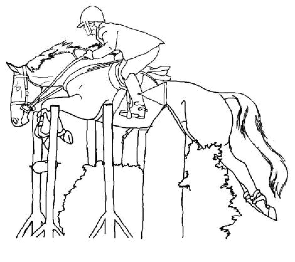 Big Printable Coloring Pages Horses For All Ages Kleurplaten ... | 836x940