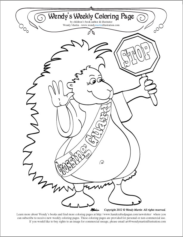 street sign coloring pages - photo#21