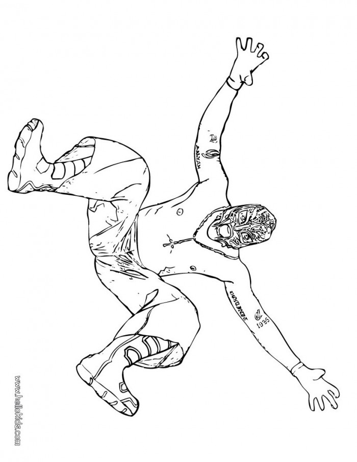 Rey Mysterio Coloring Pages Az Coloring Pages Mysterio Coloring Pages
