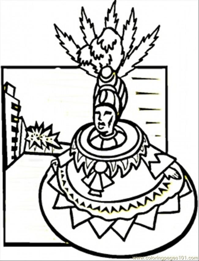 Carnival Coloring Pages AZ Coloring