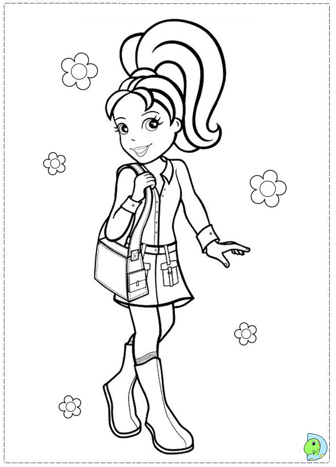 daisy and peach coloring pages