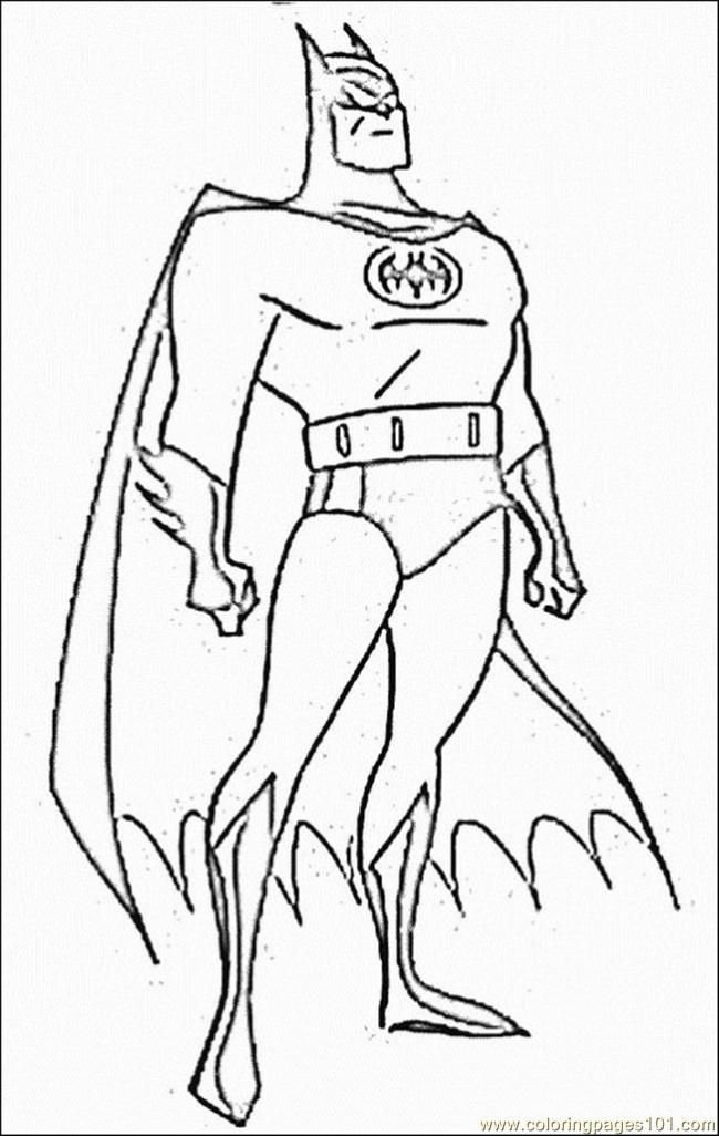 graphic regarding Printable Batman Coloring Pages identified as Absolutely free Printable Batman Coloring Webpages For Little ones - Coloring Dwelling