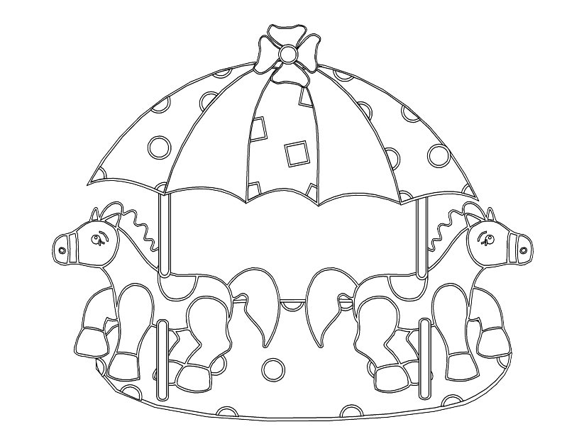 kids carnival games coloring pages - photo#9