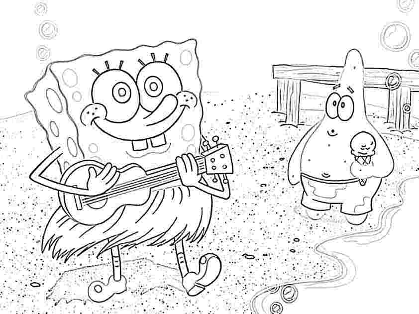 Baby Spongebob And Patrick Coloring Pages Coloring Home Baby Spongebob Coloring Pages