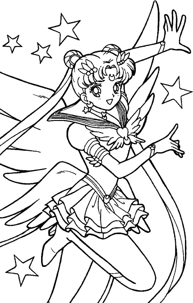 sailor moon online coloring pages - photo#48