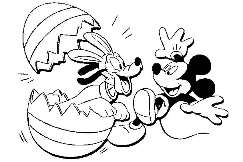Mickey Mouse Coloring Pages Printable - Free Coloring Pages For