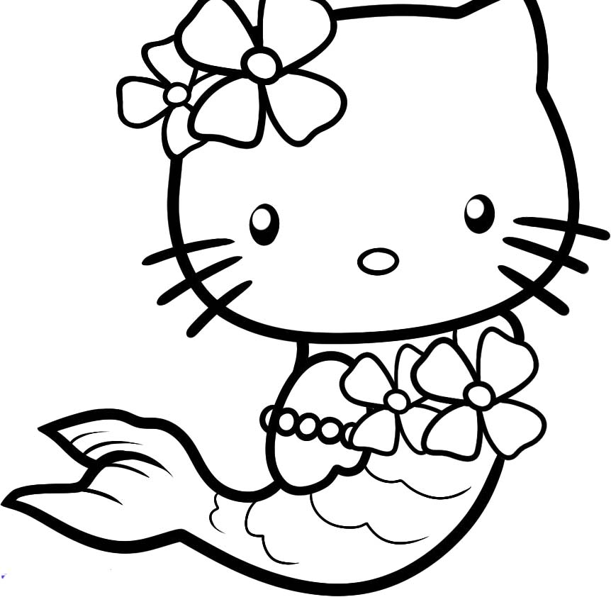 Mermaid Coloring Pages | Clipart Panda - Free Clipart Images