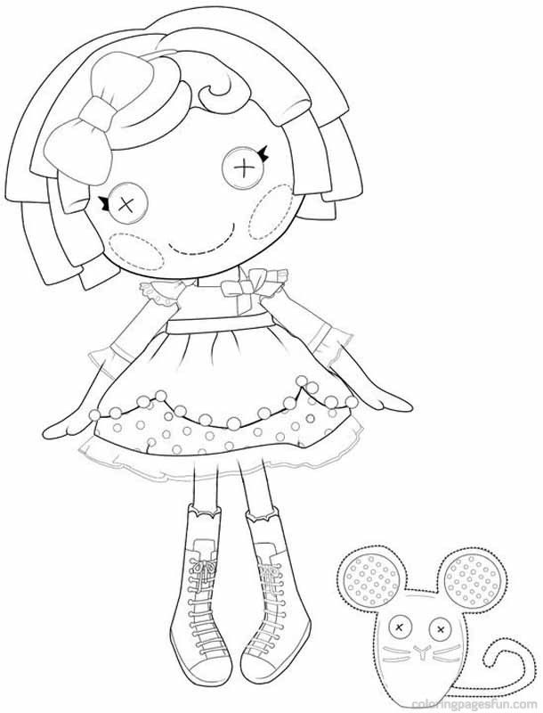Lalaloopsy Coloring Pages Online