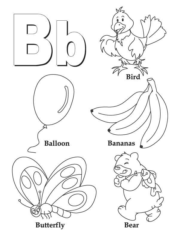 Letter i coloring pages for kindergarten