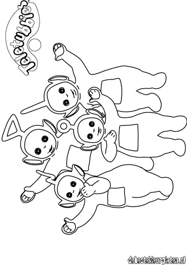 Teletubbies16 - Printable coloring pages