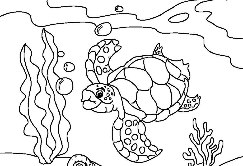 Sea turtle coloring pages free az coloring pages for Turtle color