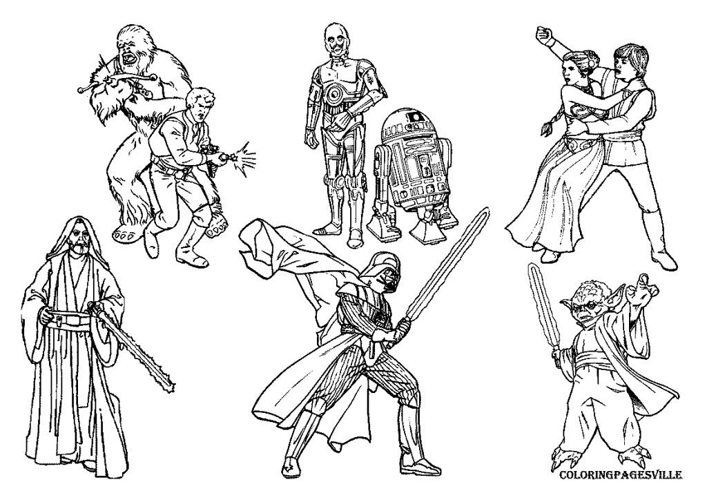 Star Wars Lego Coloring Pages - Free Coloring Pages For KidsFree - Coloring  Home