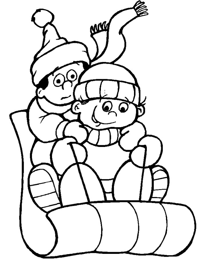 free coloring pages winter wonderland - photo#12