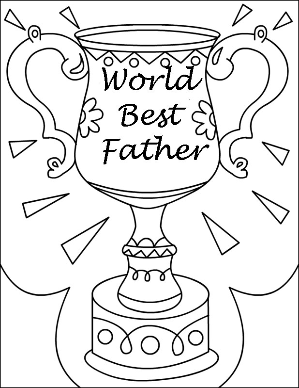 coloring pages of a dad - photo#44