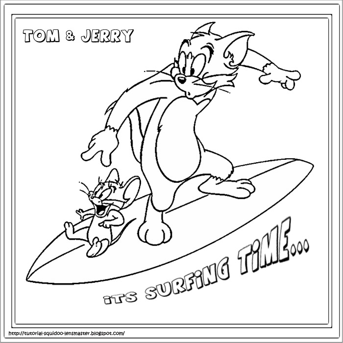 surfing coloring pages for kids - photo#15