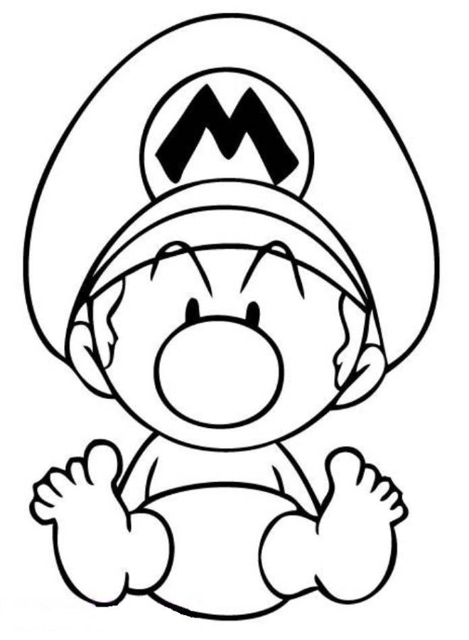 baby yoshi coloring pages - photo#32