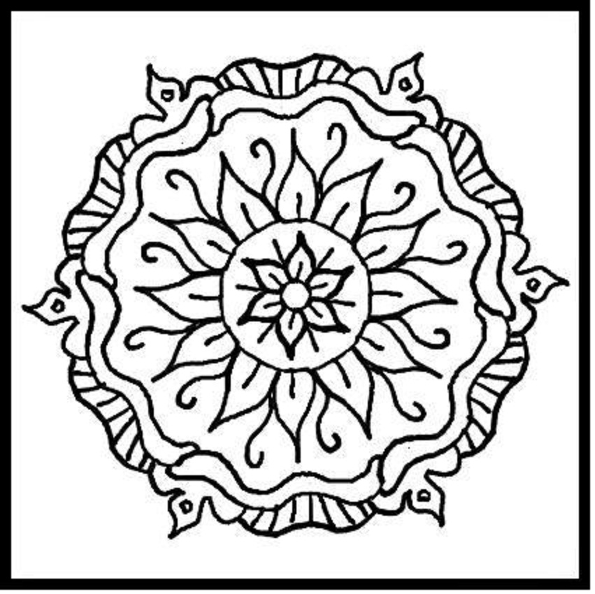 designing coloring pages - photo#6