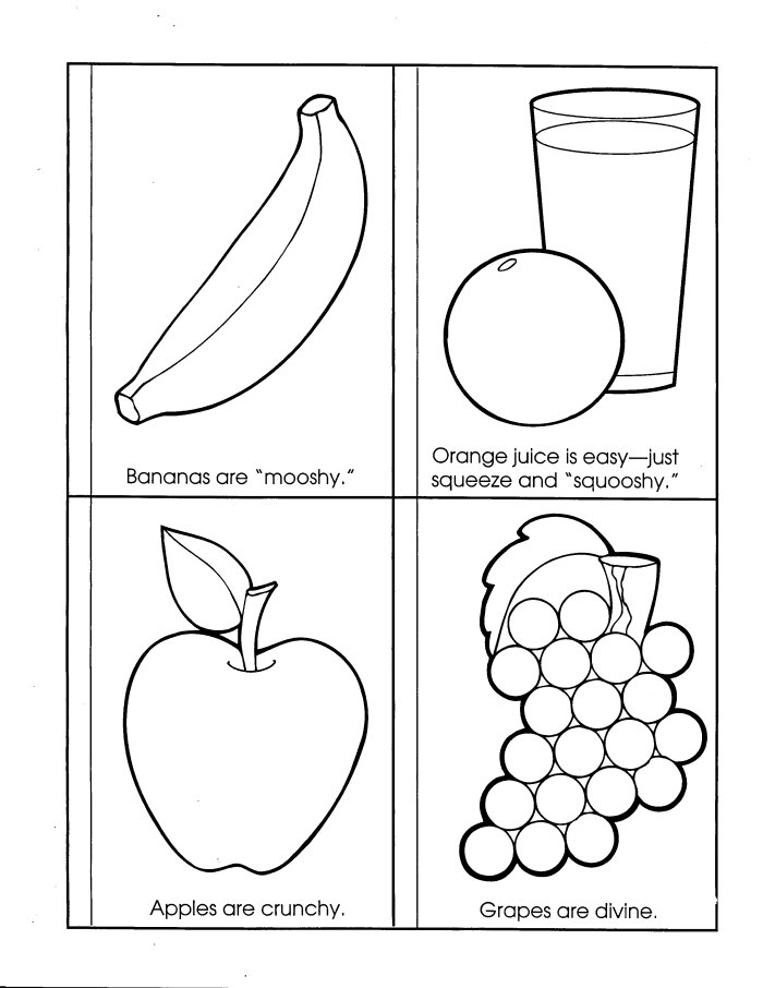 esl coloring pages food pyramid - photo#34