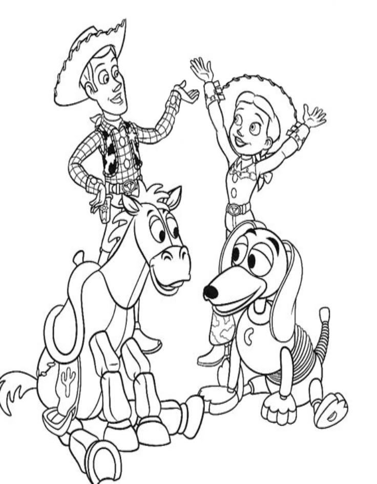 Toy Story Coloring Book Pages - Coloring Home