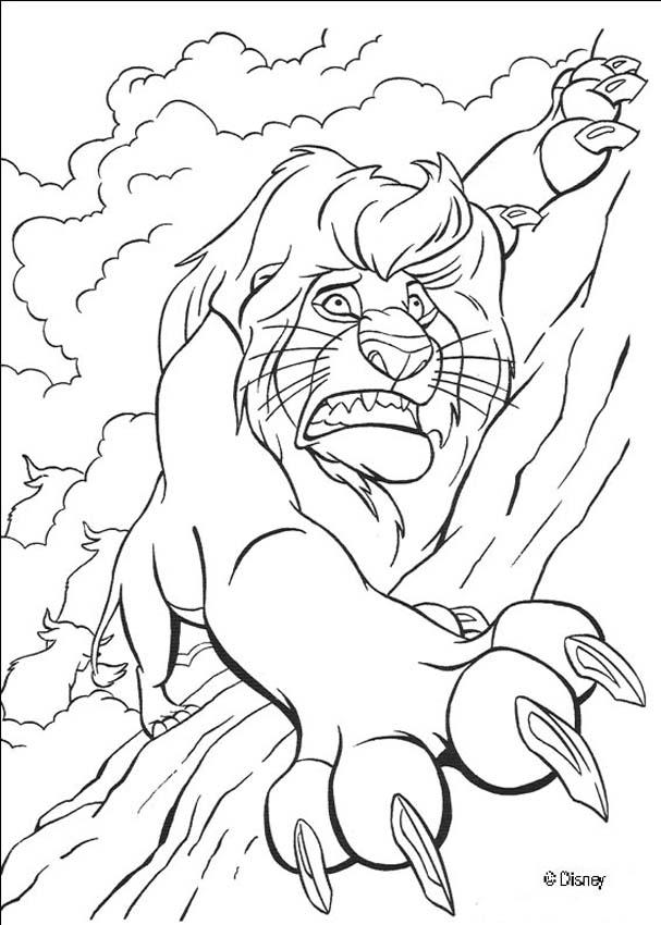 The Lion King coloring pages - Mufasa