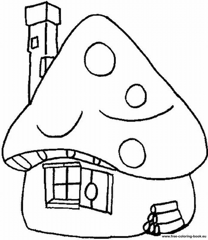 Coloring pages The Smurfs - Page 3 - Printable Coloring Pages Online