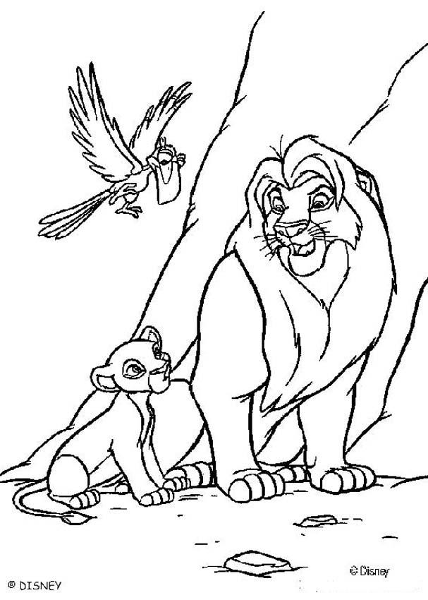 Lion King Drawings - Coloring Home