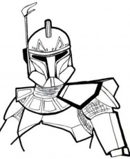 Star Wars Coloring Pages Captain Rex - Action Coloring Pages ...