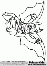 Lego Batman Coloring Pages #24430