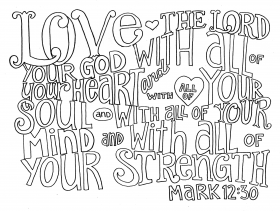 Bible Verse Coloring Pages Love - Coloring Pages For All Ages