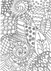 Zentangle Colouring Pages - In The Playroom