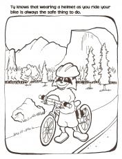 03 bicycle transportation coloring at pages book for kids sketch ...