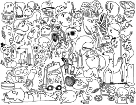 free doodle art if you enjoy coloring check out this email from ...