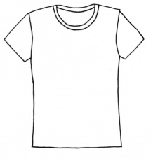 Shirt Coloring Clipart - Clipart Kid
