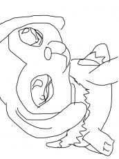 lps coloring pages (collie)
